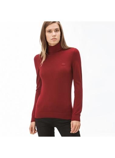 Lacoste Kadın  Triko AF8791.Y5S Kırmızı